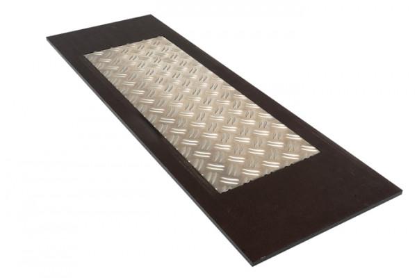 Trittplatte Siebdruck Riffelblech