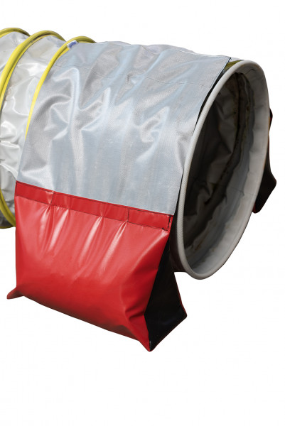 Sandbags pair with soft padding