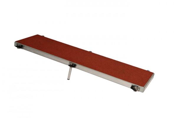 Trittplatte 125 x 36 cm 6 Sockel