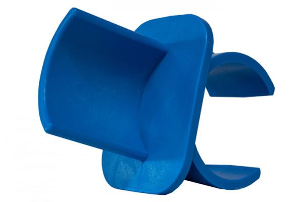 Bar holder plastic in blue