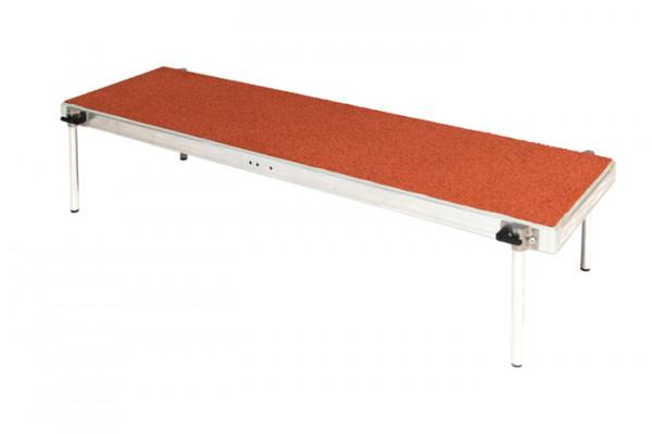Footboard 125 x 36 cm, 4 sockets